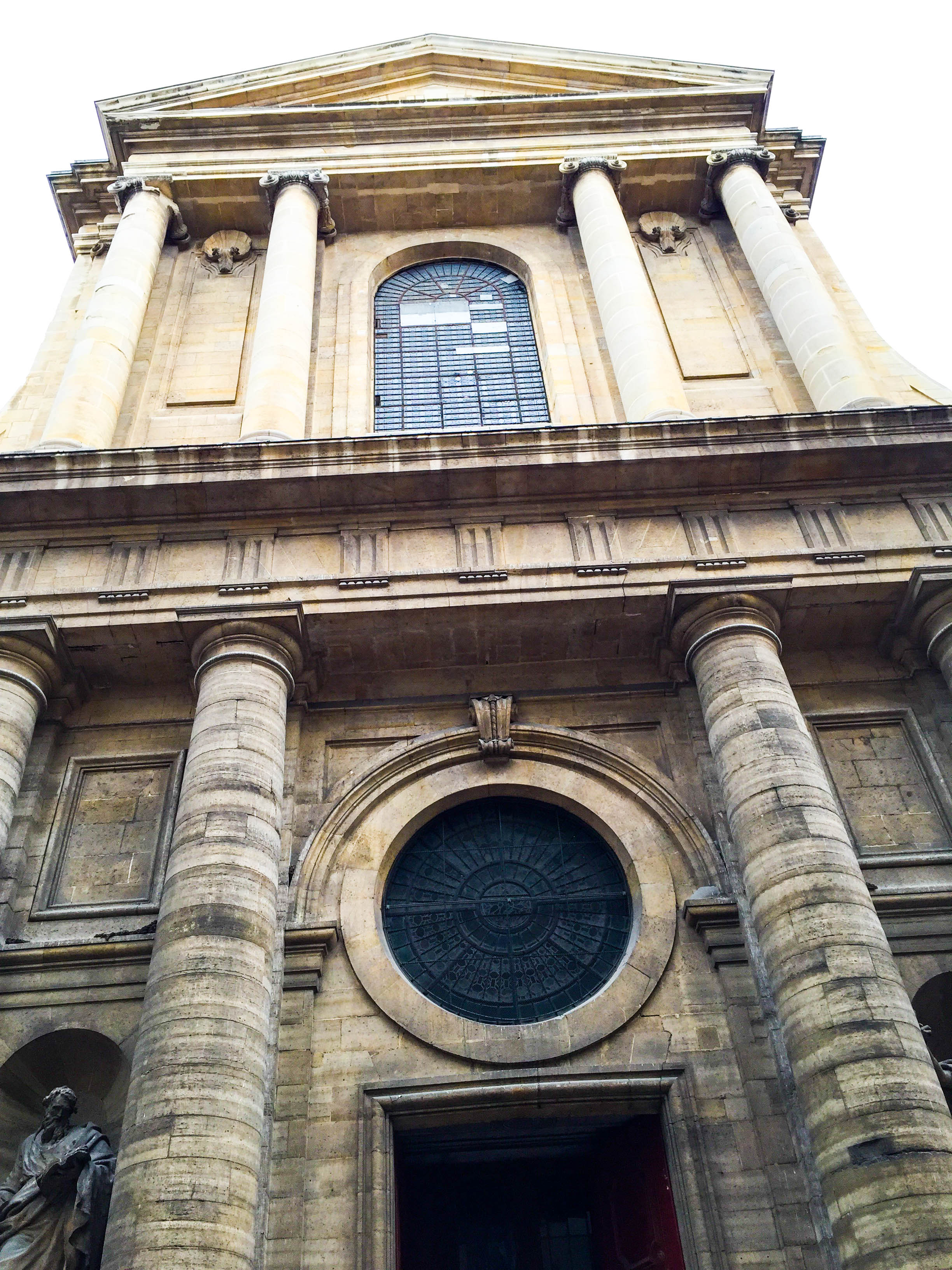 One of the many cathedrals in Paris.