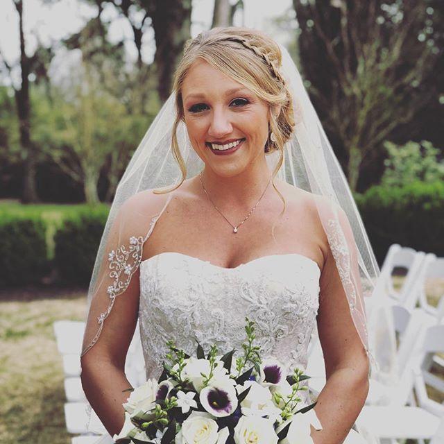 Such a beautiful bride today!  Congratulations to Allison and Darin! #cedarhallweddings #cedarhall #memphiswedding #memphisweddingphotographer #memphis #lynndoyleflowers @lynndoyleflowers providing a beautiful bouquet and flowers!!!