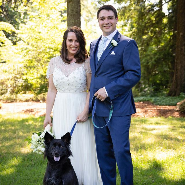We always love including a couples fur baby in their photos! #dixongalleryandgardens #furbaby #menphiswedding #weddingphotography #memphisweddingphotography #memphisphotography #wedding #weddingphotography #weddingphotographymemphis