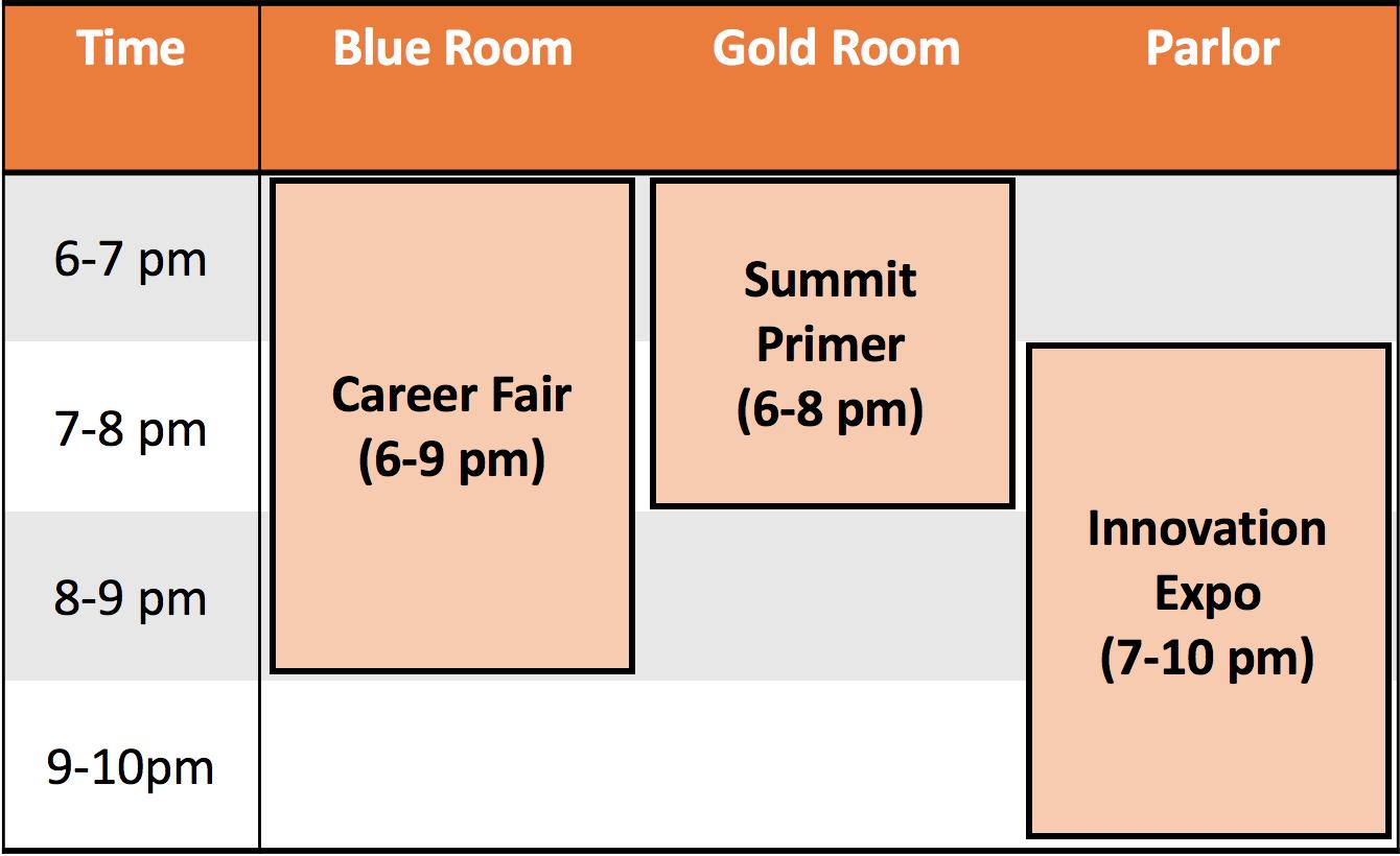 BERC Summit, Thursday events