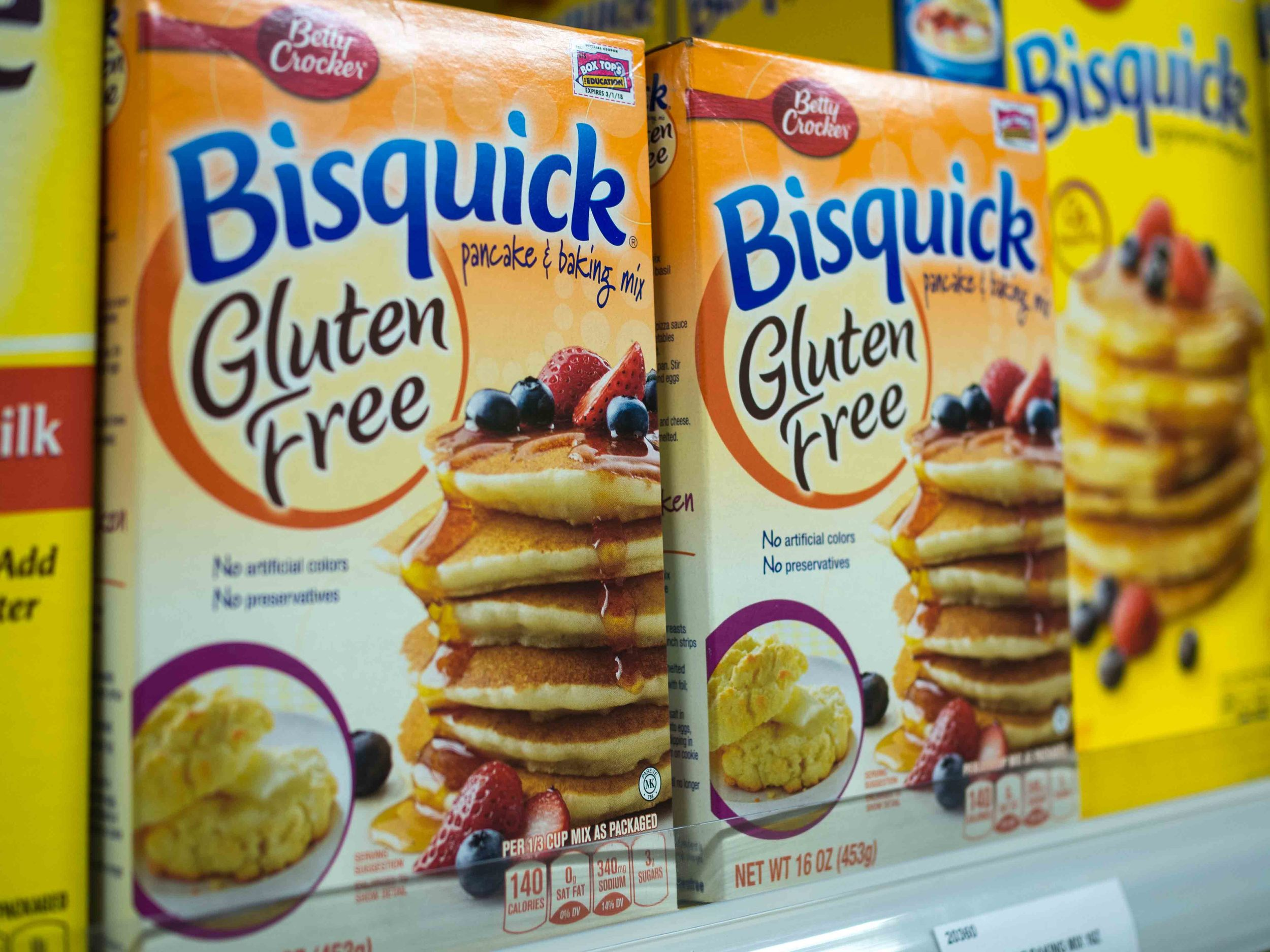Betty Crocker Bisquick Pancakes