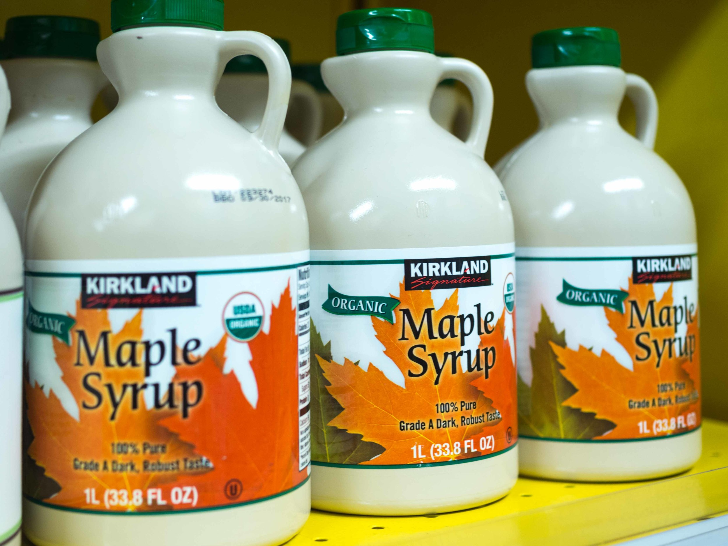 Kirkland Organic Maple Syrup