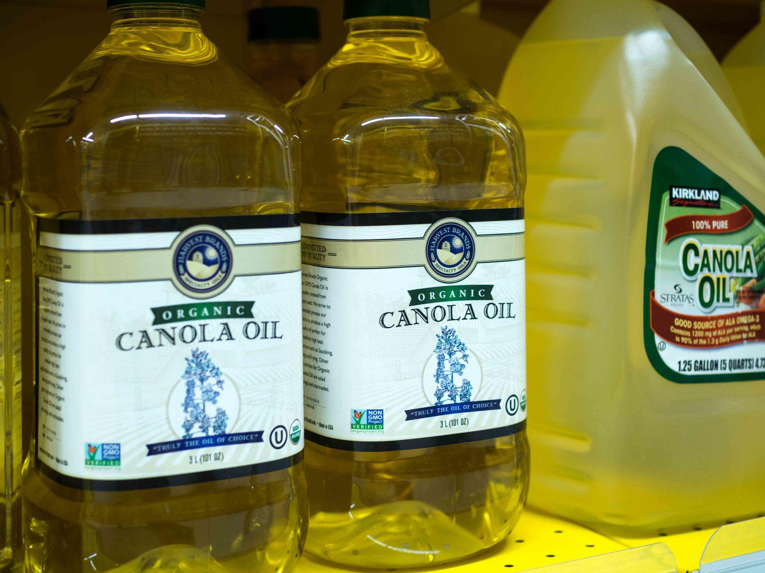 Harvest Brands Organic Canola Oil