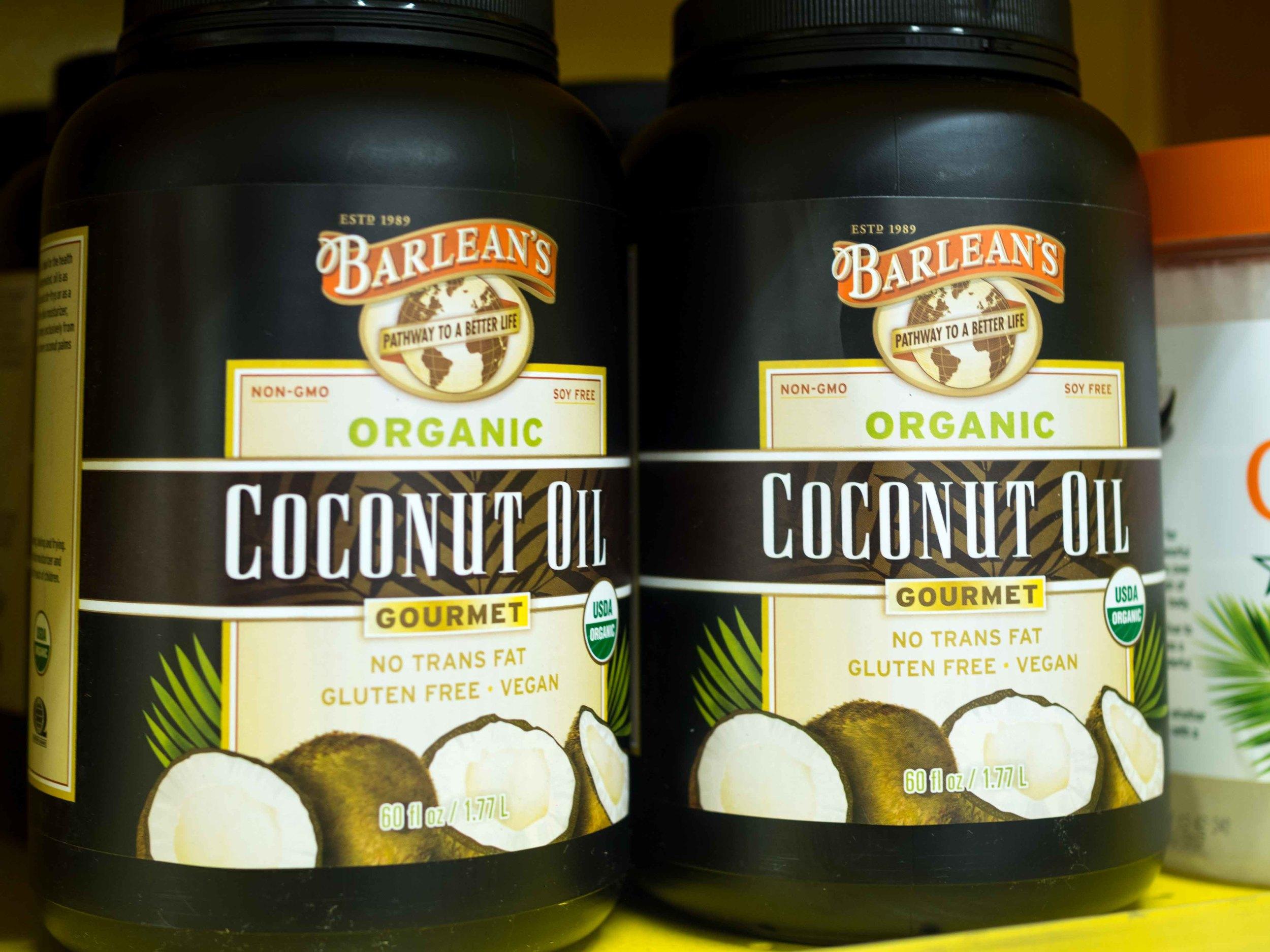 Barlean's Organic Coconut Oil