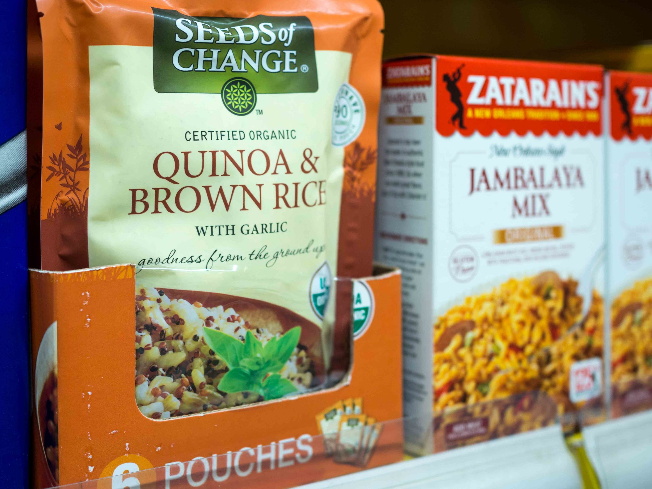 Seeds of Change Organic Quinoa & Brown Rice with Garlic