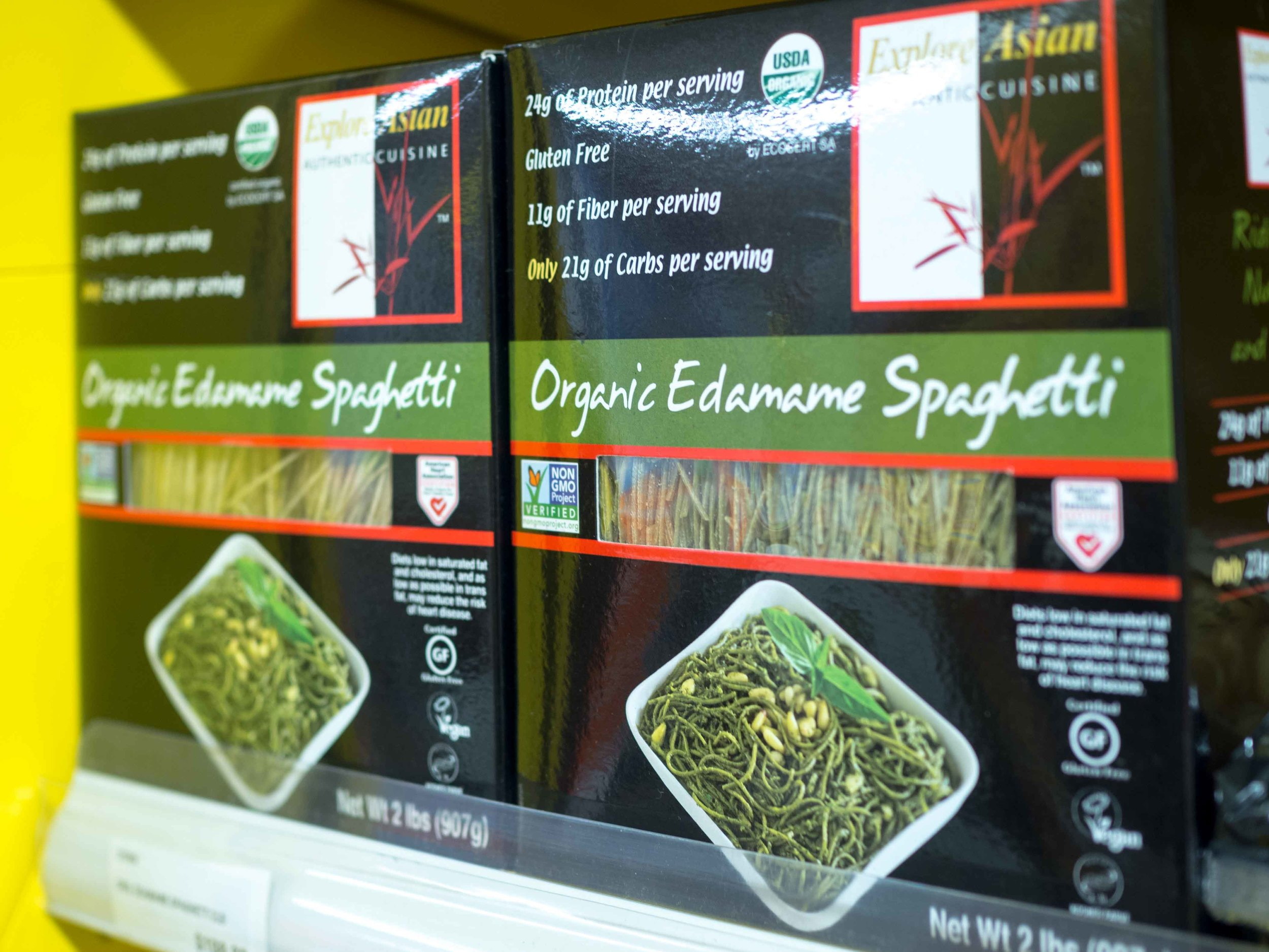 Explore Asian Organic Edamae Spaghetti