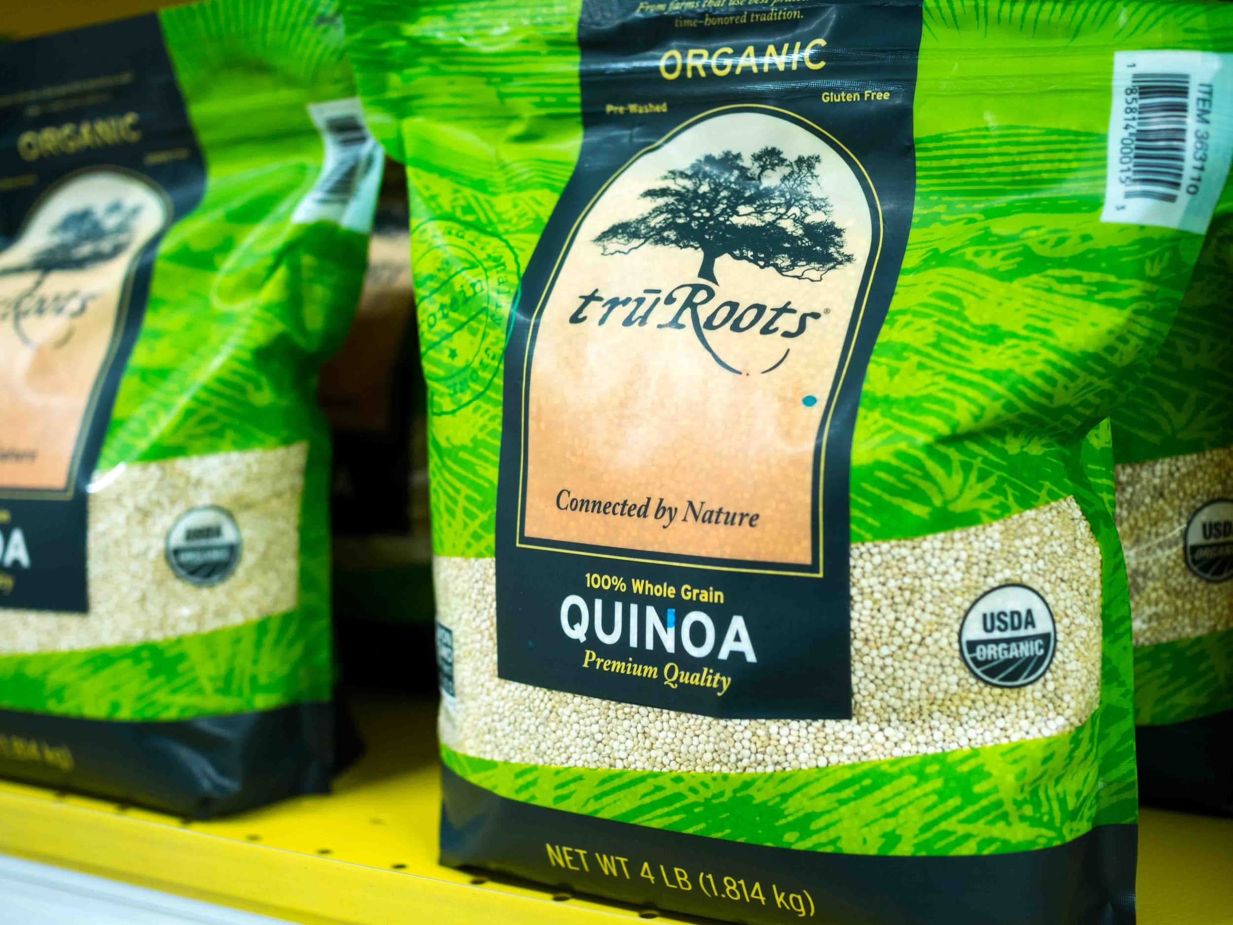 A healthy and nutritious GF grain - Quinoa