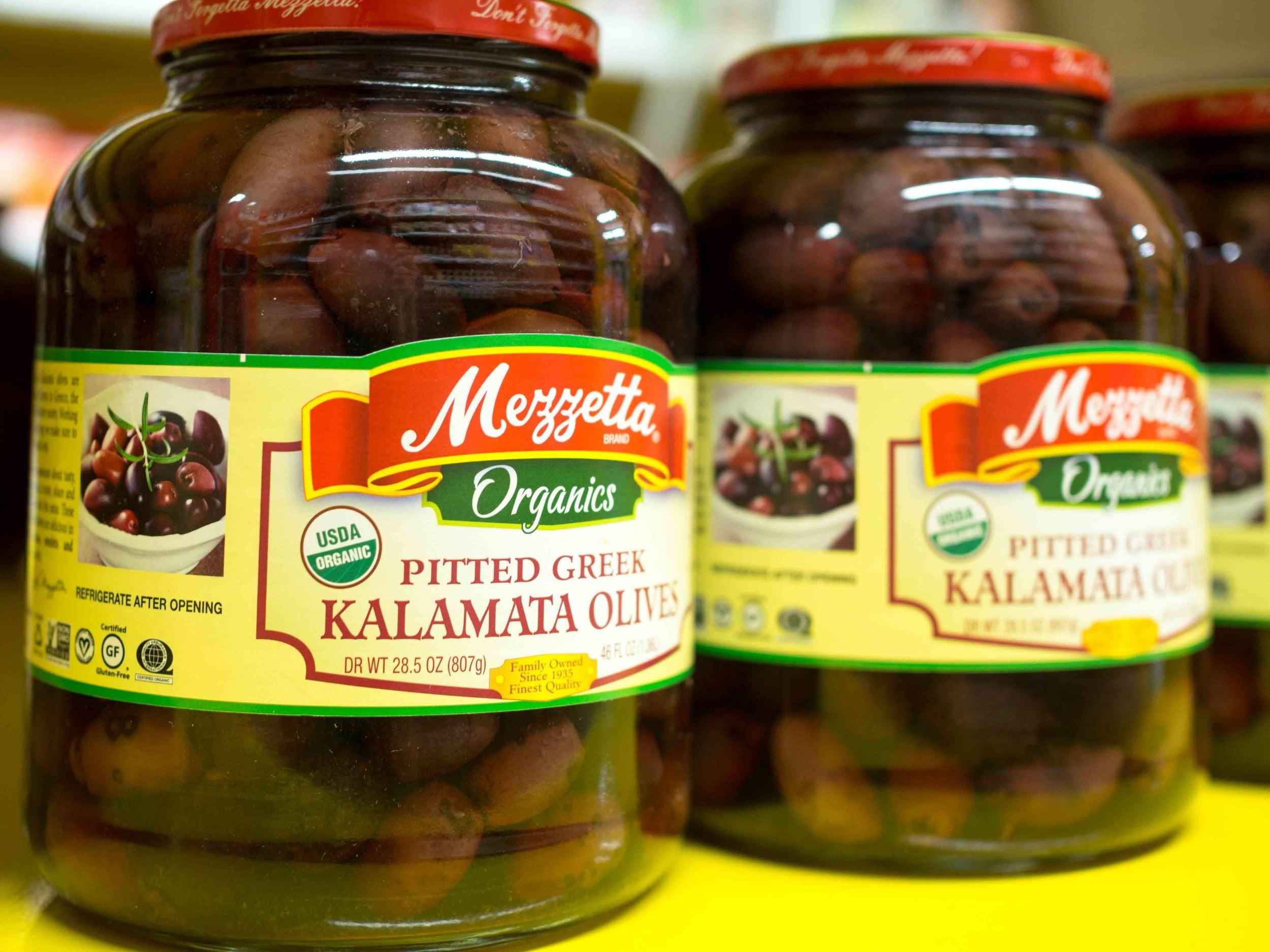 USDA Organic Olives