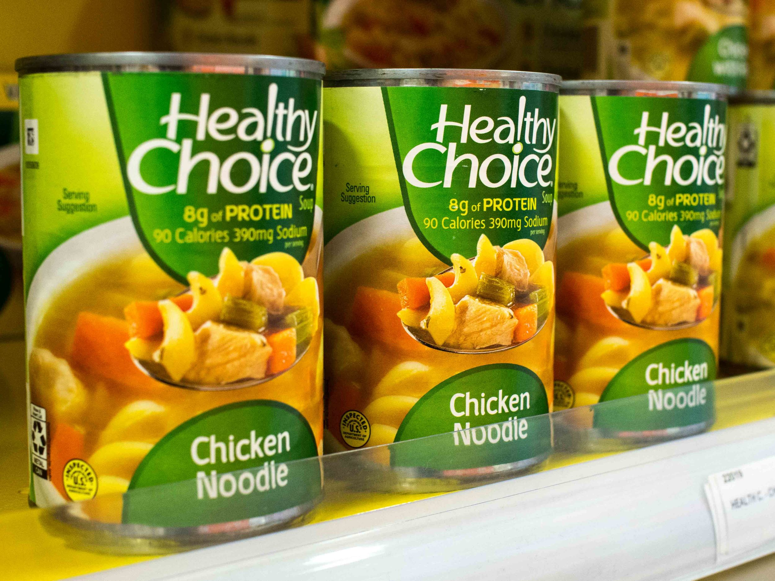 Healthy Choice Chicken Noodle