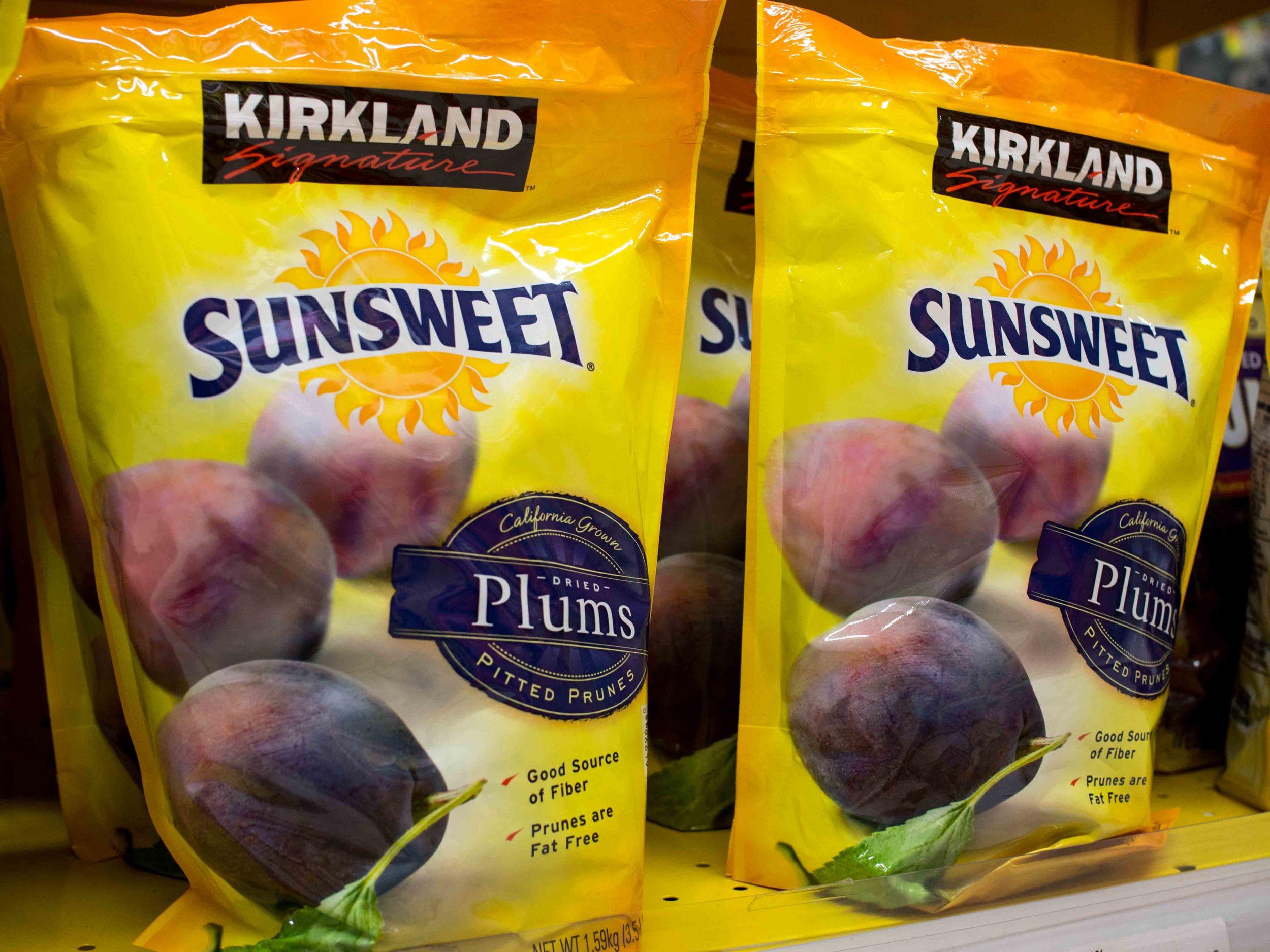 Kirkland Sunsweet Plums