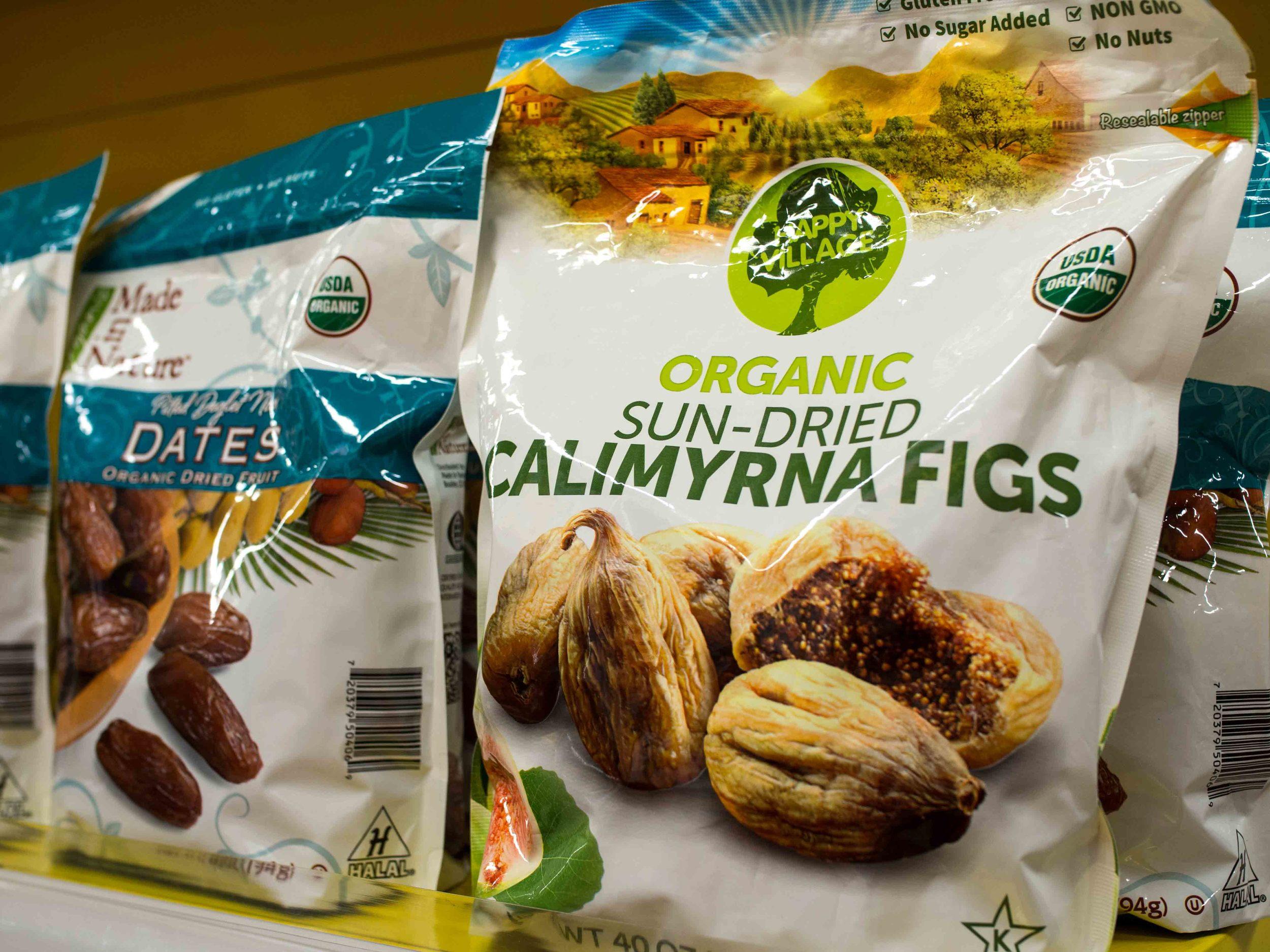 Organic Sun-Dried Calimyrna Figs