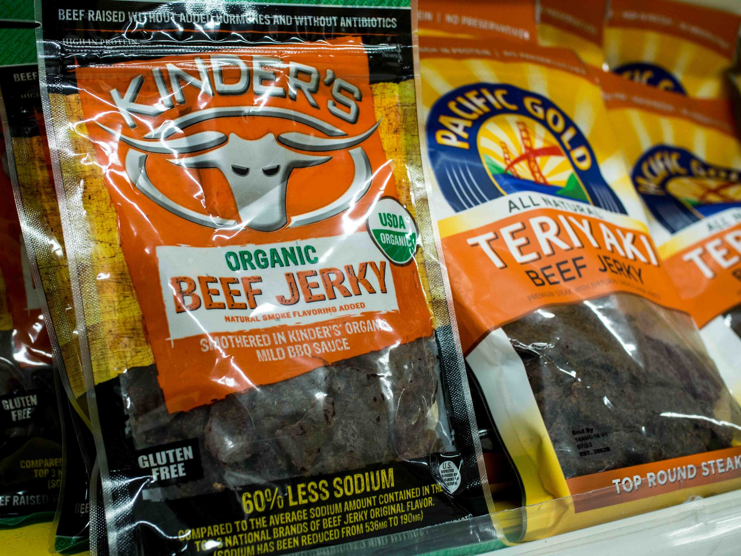 Kinders Organic Beef Jerky