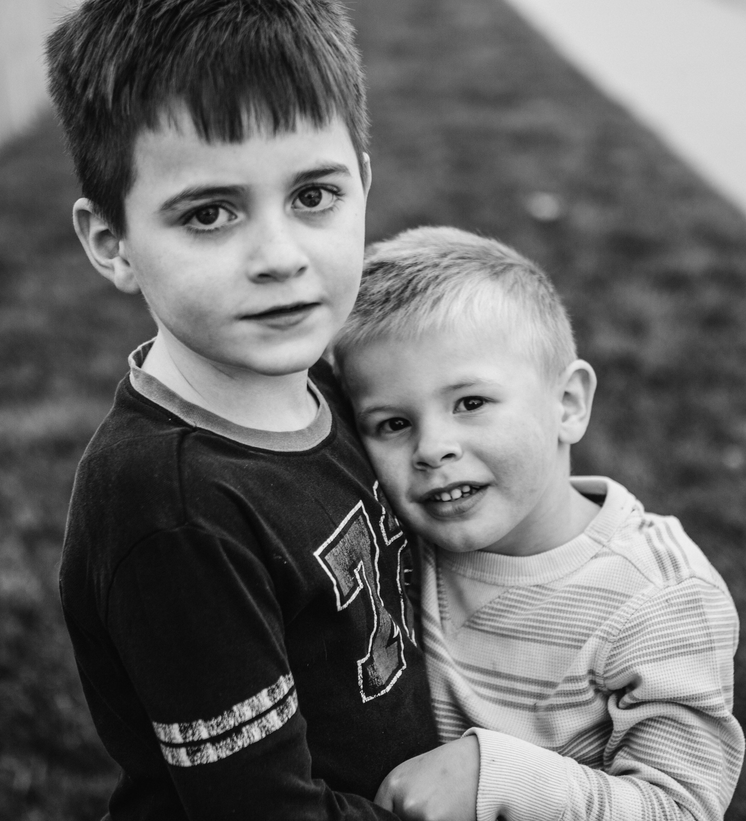 Ryan's two adopted younger brothers. Getting to spend time with them and other family was a real highlight of this last year.