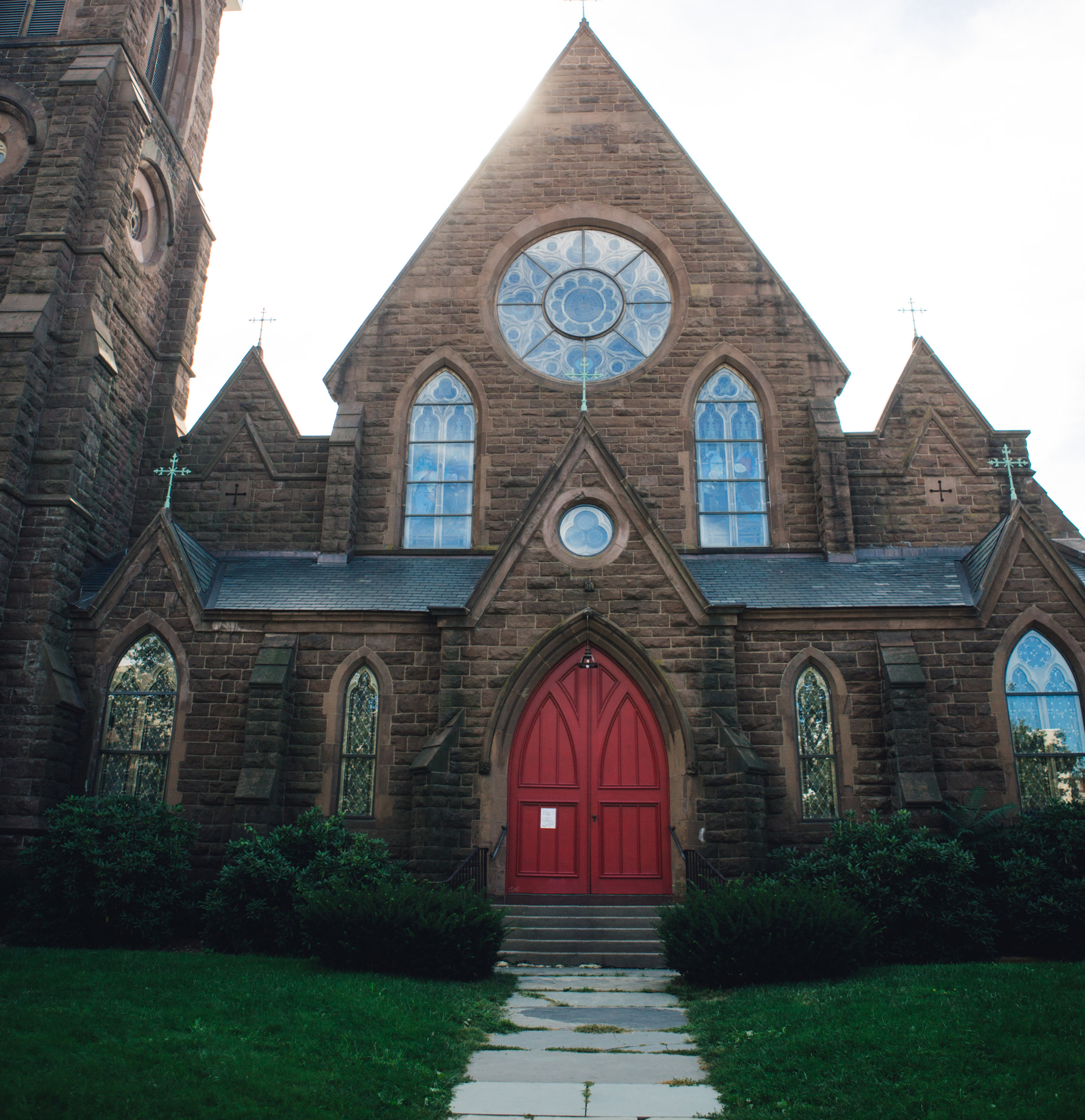 A church in my mom's hometown- Middletown, Connecticut. It was so amazing to explore where she grew up and experience the places from all the stories I've heard.