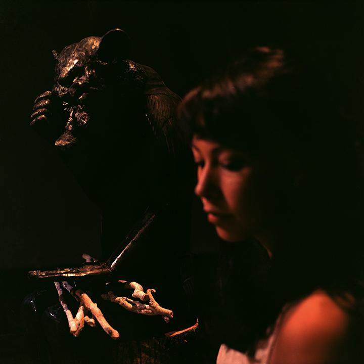 'Little Bear' and Melanie Sharr. Photo © Aimee Santos