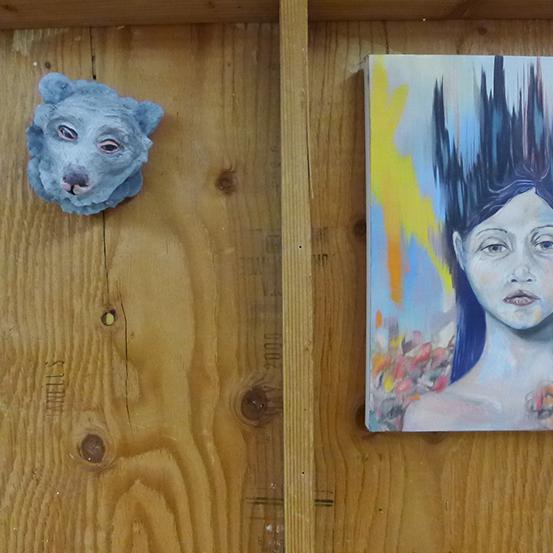 Melanie Sharr: Painter/Sculptor — Studio Visit LA