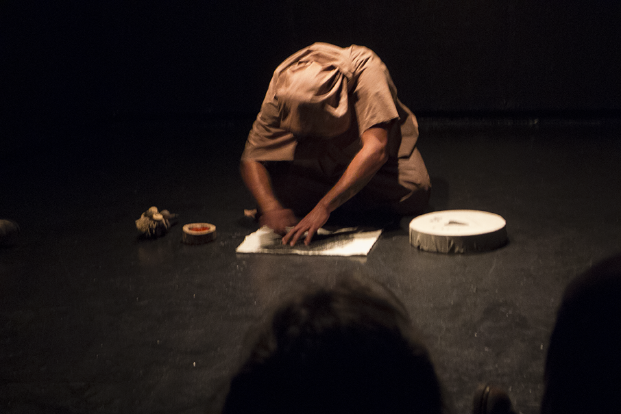 'The Storyteller' Performance,  2012.  Photo © Aimee Santos