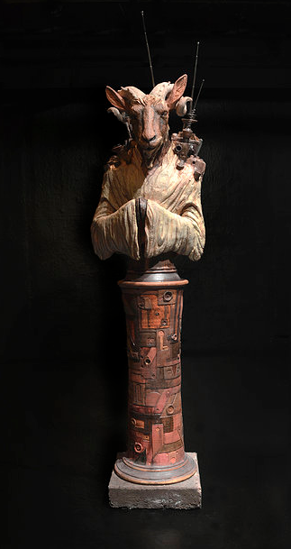 'The Historian' by Wesley T. Wright. Photo courtesy of the artist.