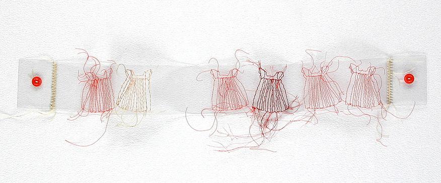 'Matching Dresses' by Gwen Samuels. Photo courtesy of Gwen Samuels.