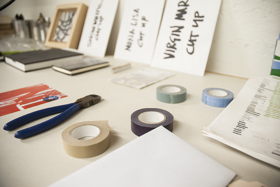 Much of Gratkowski's studio is meticulously organized. Photo © Aimee Santos