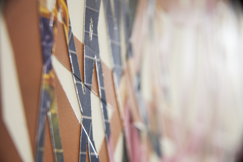A detail shot of one of Gratkowski's pieces. Photo © Aimee Santos