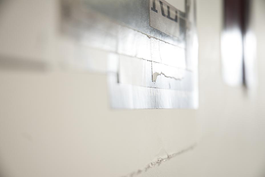 The edge of one of Gratkowski's pieces. Photo © Aimee Santos