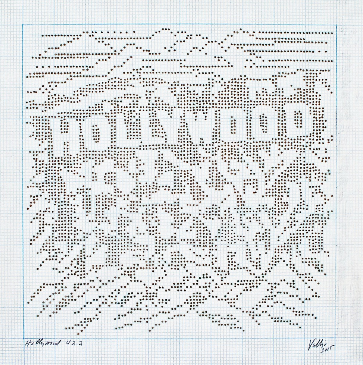 'Hollywood 42.2' from 'The Brown Dot Project'  image courtesy of the artist Linda Vallejo.