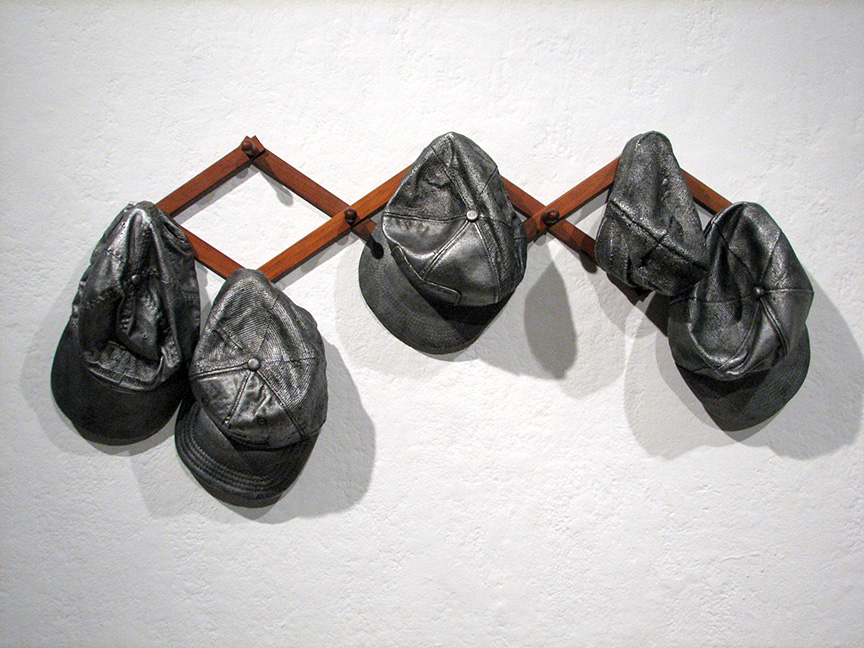 "'Standard"" Aluminum, Found Object 38""x9""x16"" 2009.  Image courtesy of the Artist Ryan Carrington."