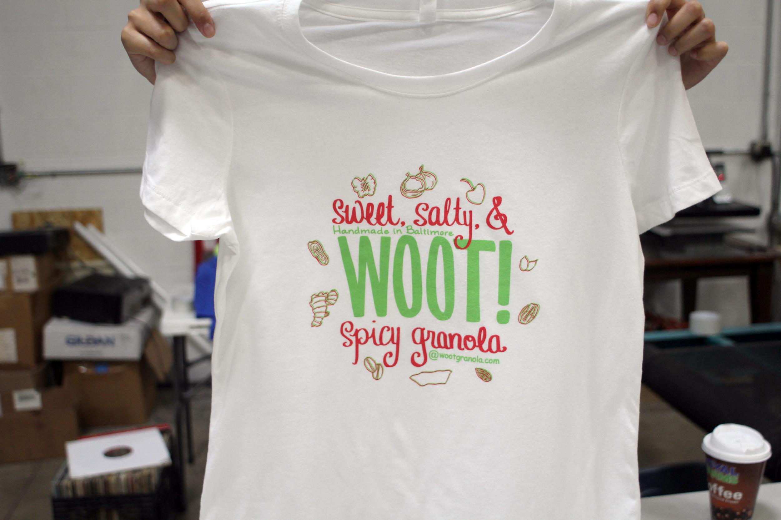 WOOT! Granola