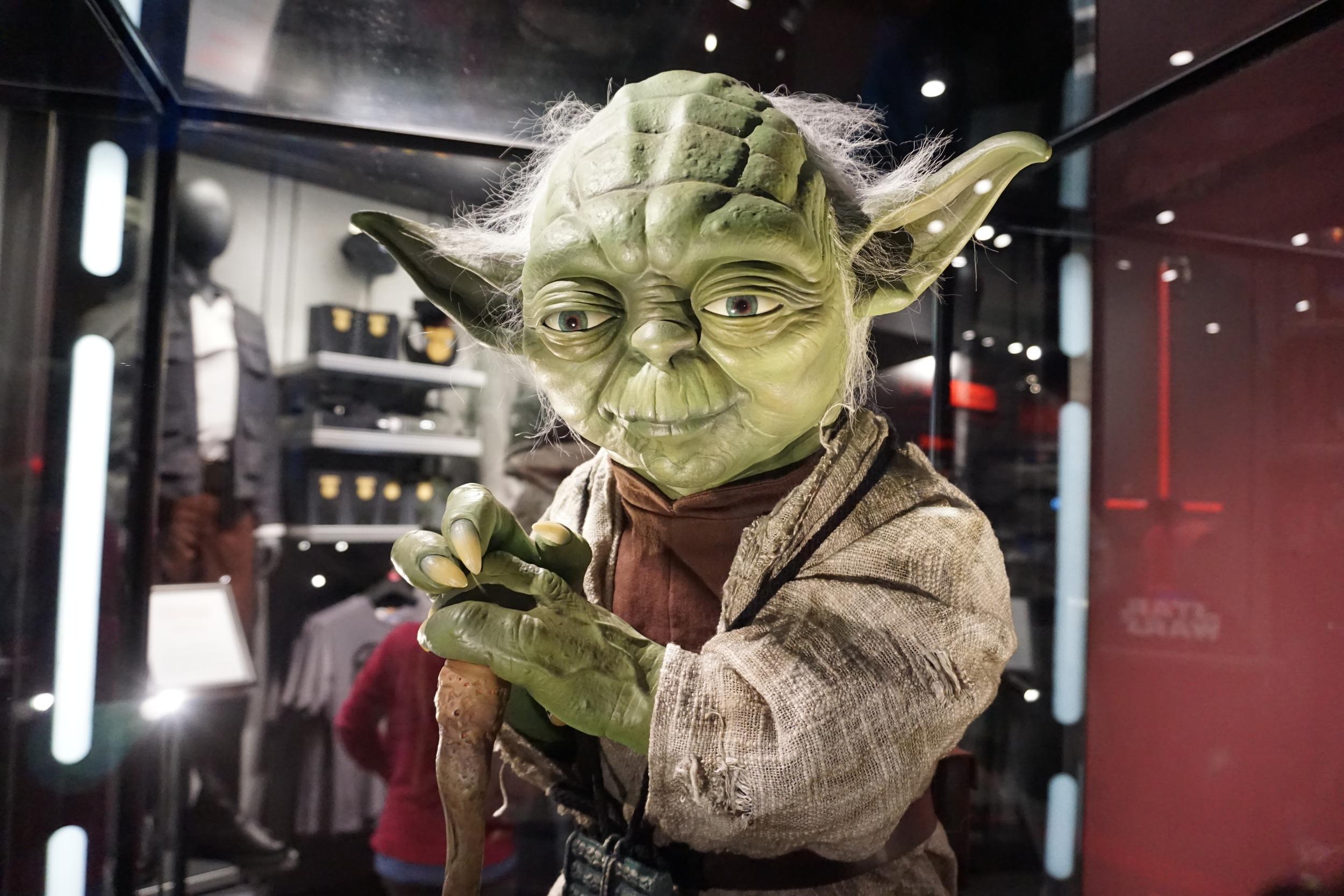 Yoda - Disneyland December 2015