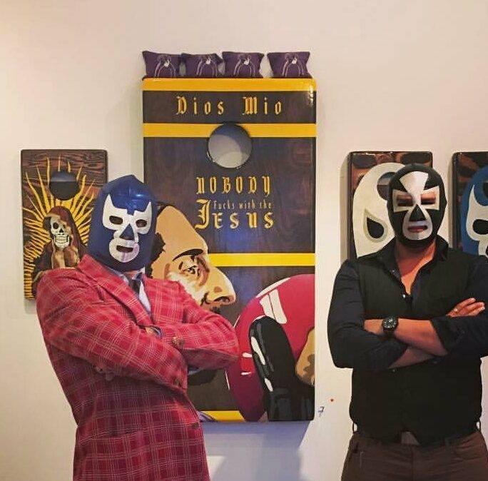 Cinco de Mayo art show, S.O.C.K.S. was a big hit!