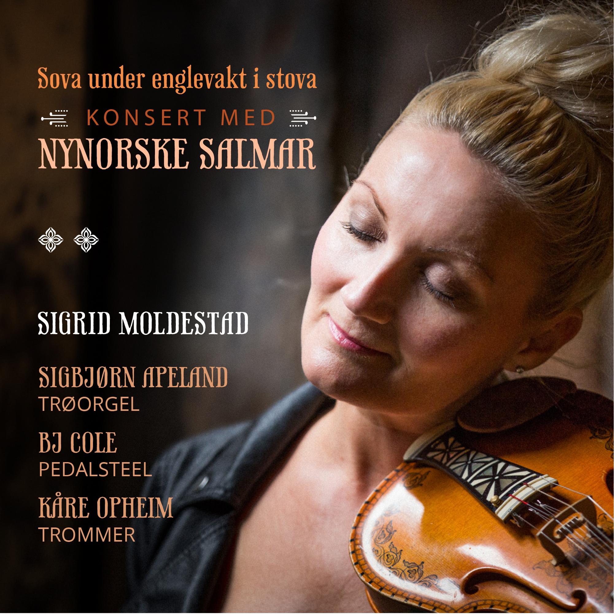 Sigrid Moldestad. FOTO: Magnus Skrede