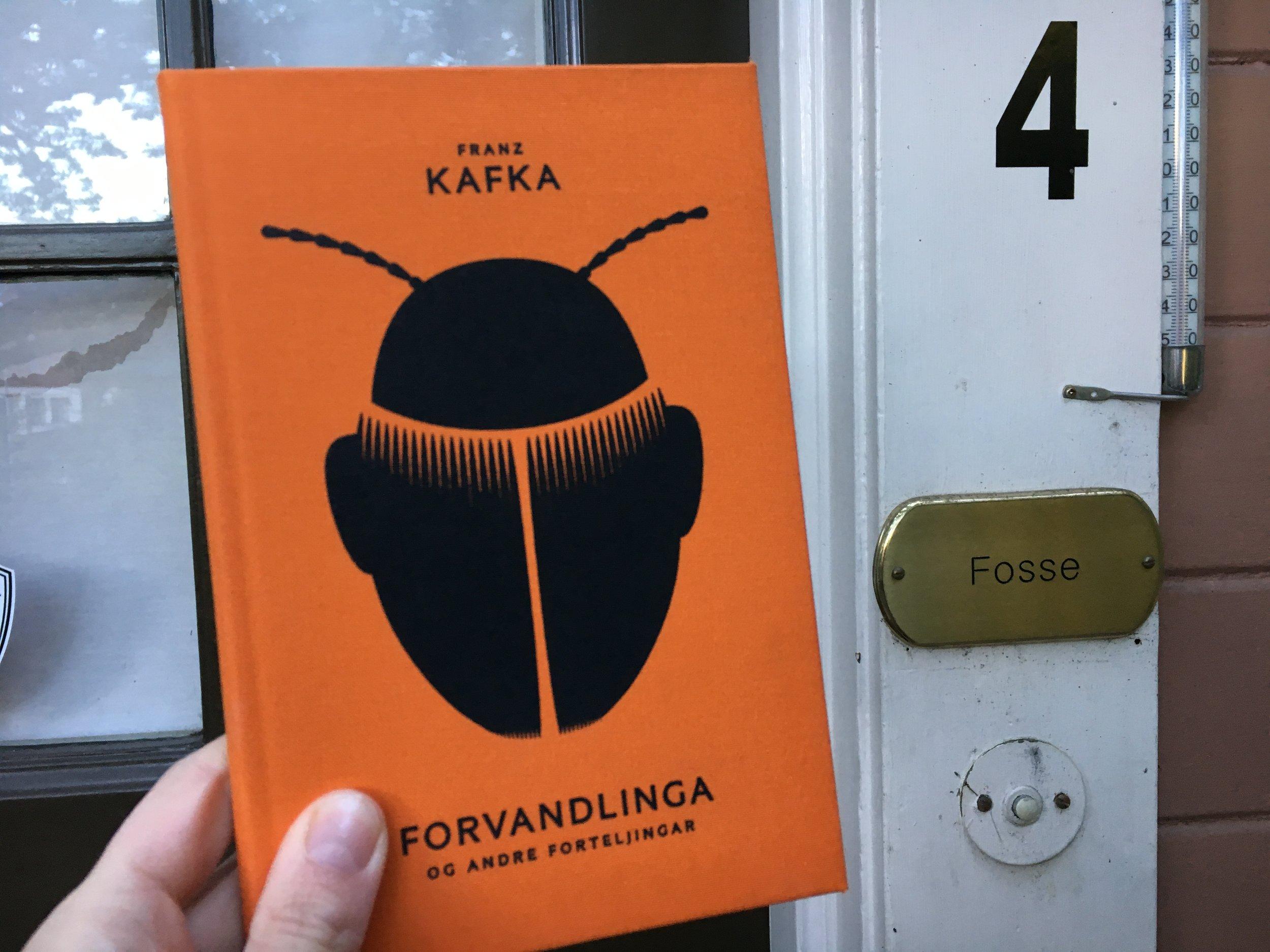Franz Kafka på nynorsk!