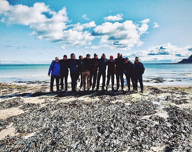Lucky to have spent my stag weekend with these fantastic men. Special thanks to @rob_longworth for the loan of his campsite to 14 rowdy gents 🙏 special times.