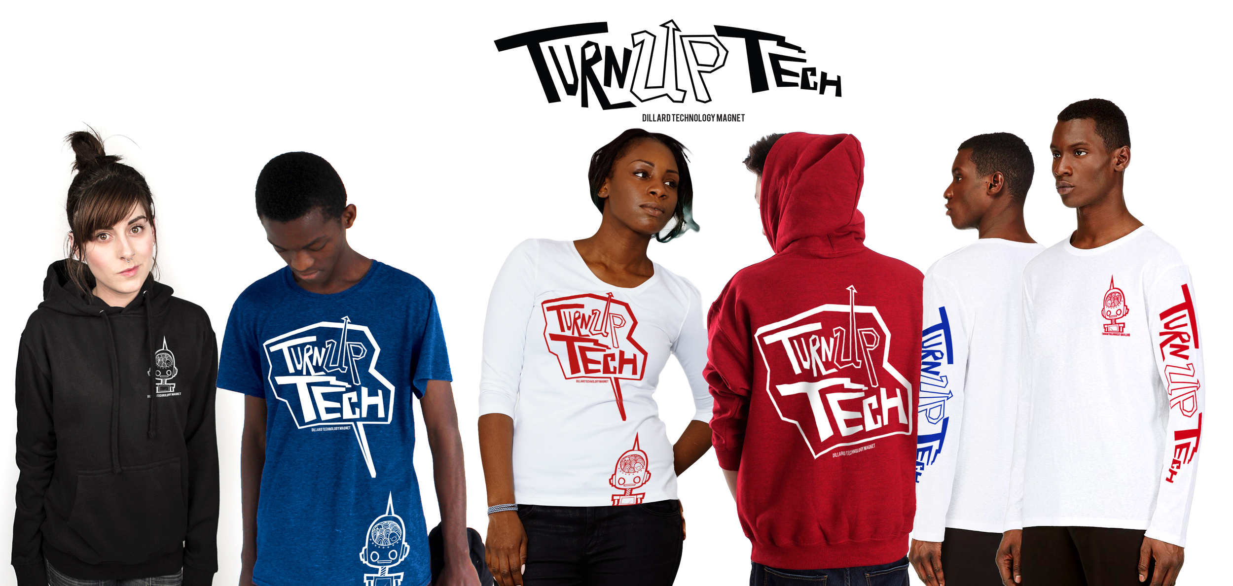 Turn Up Tech  Apparel  Briyana Butler, Designer    To orders yours, see Ms. Swanson