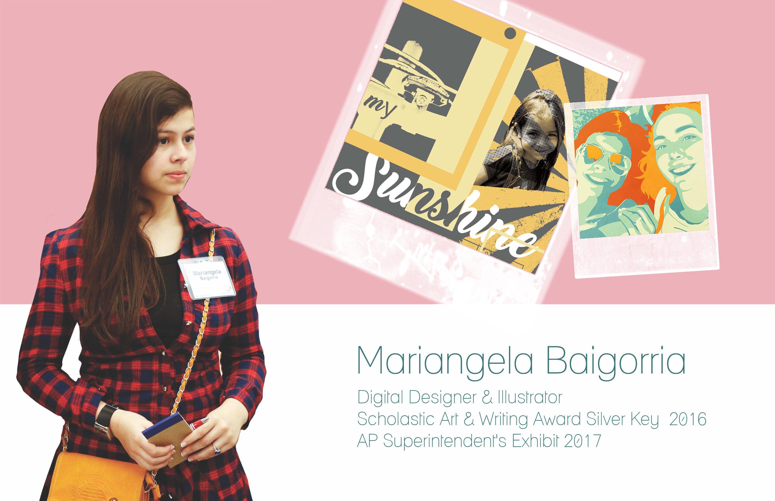 Mariangela Baigorria, Sophomore 2017