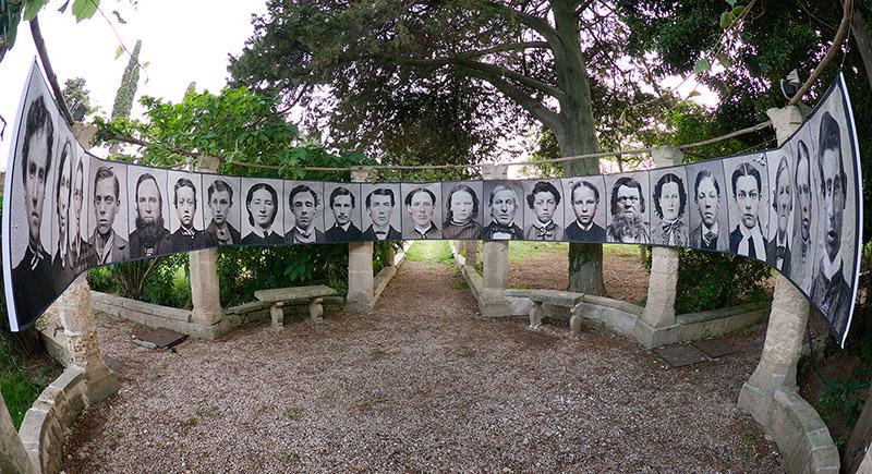 Tintype Portraits Installation , 2013 Installation Italy