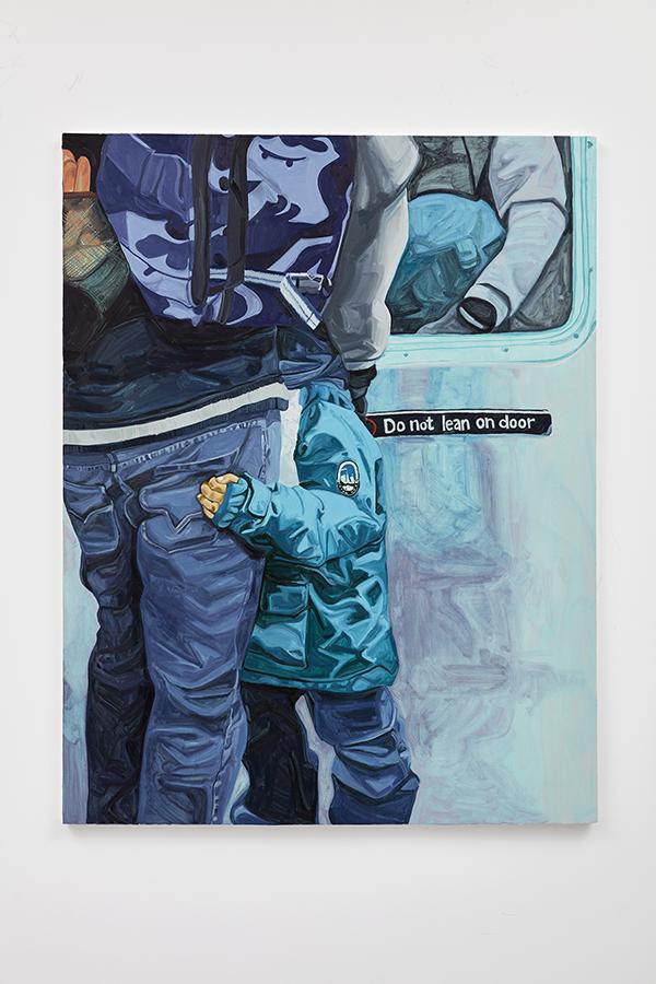 02_WEB_Lean, oil on canvas, 72 x 56_, 2018 - Massiel Mafes.jpg