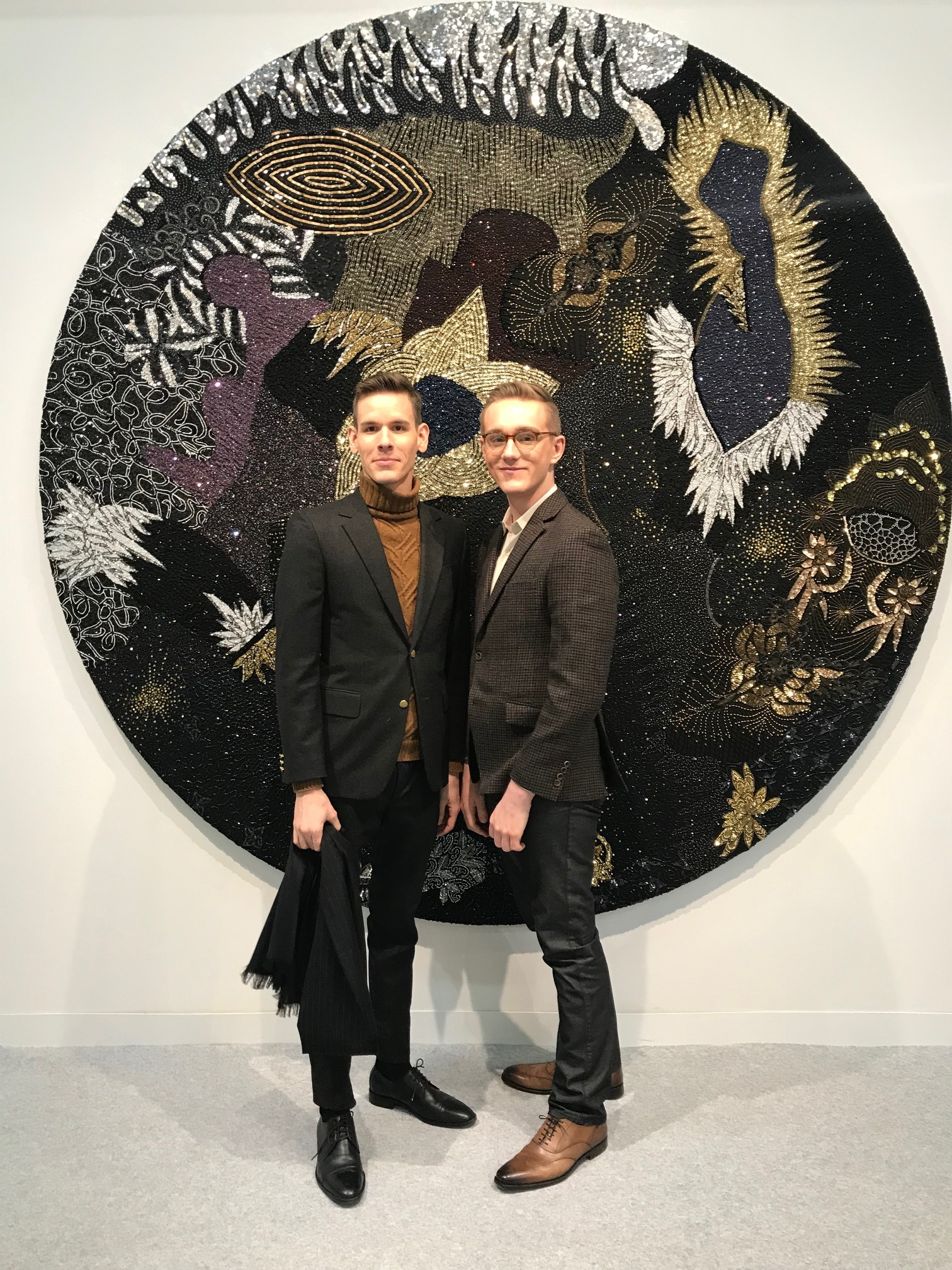 Allen Ball at the Armory Art Fair