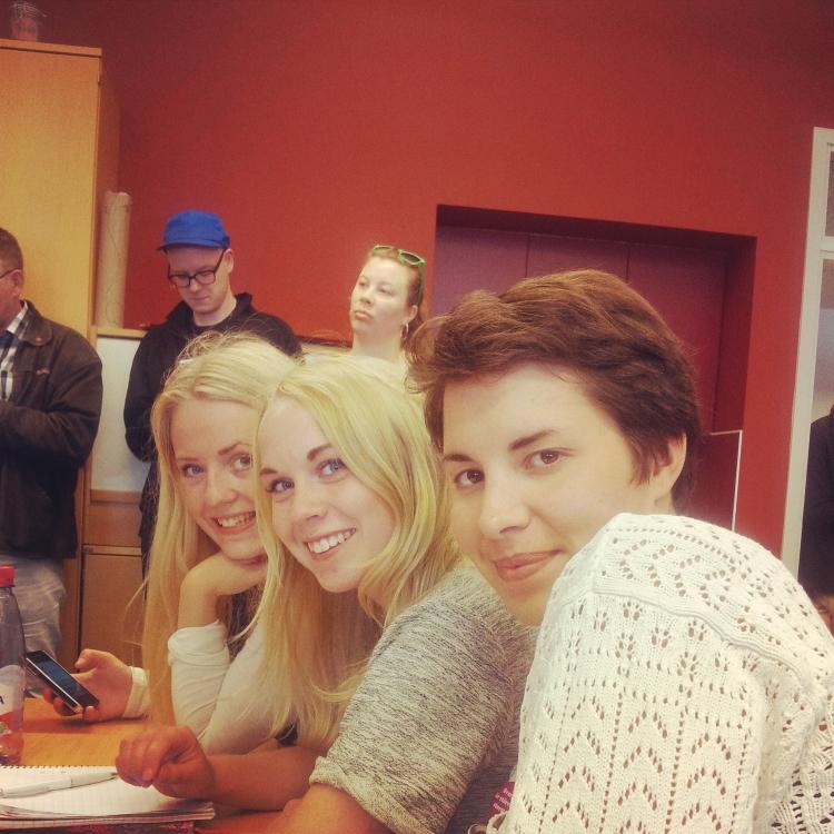 Lovisa, Sofie och Maria från #ungapålandsbygden