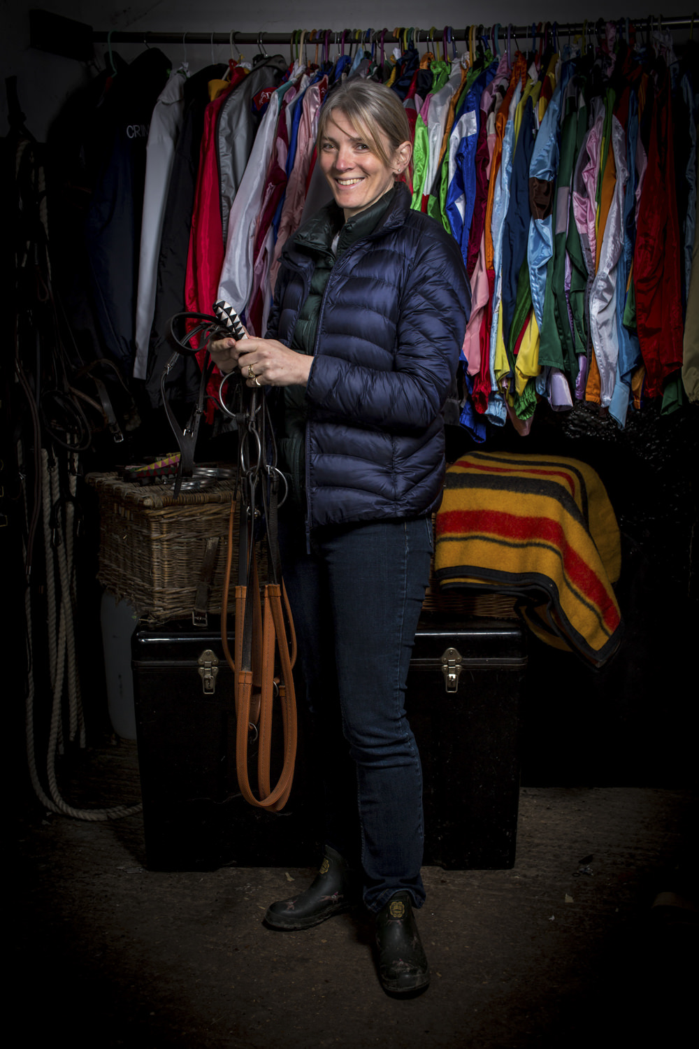 Christina Dunlop   Wife of Harry and mother of Tom & William, Christina assists in the office and frequently travels horses abroad. She also breeds prizewinning Berkshire Pigs and leads up both boys at the races when they are pony racing!