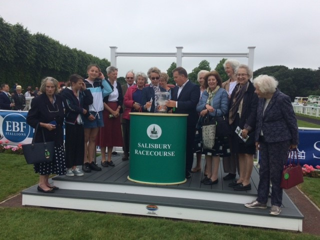 The Windsor House Stables Partnership win at Salisbury with Golden Image