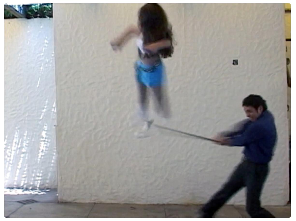 Teresa Serrano, La Piñata, 2003, Video still