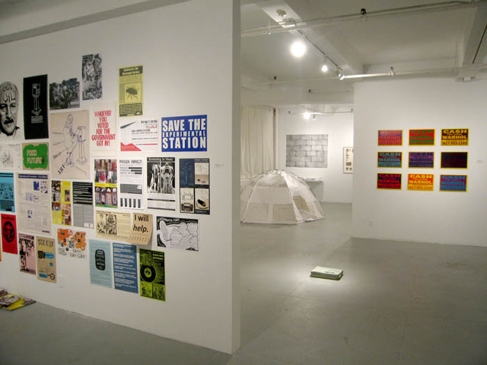 Installation view of One Every Day