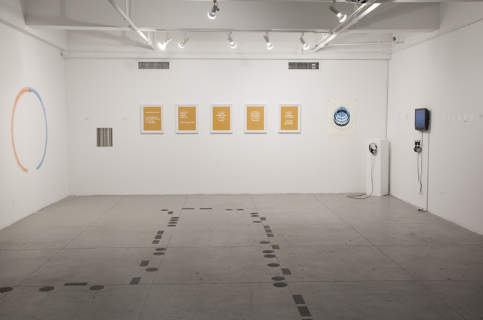 Installation View of Telefone Sem Fio