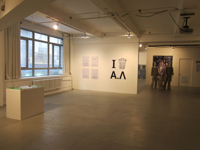 Installation view of Sound of Silence: Art Against Dictatorship