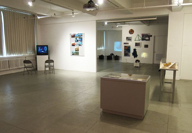 Installation View of Cultural Transference