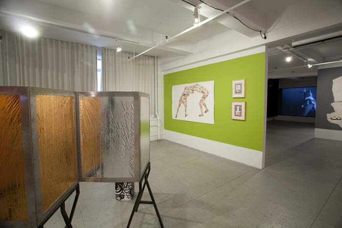 Installation View of The Emo Show