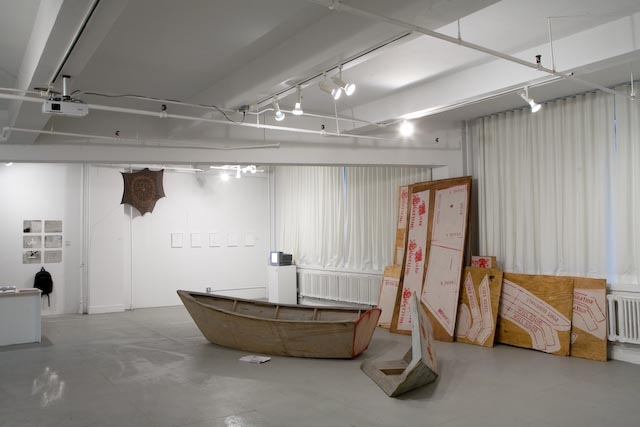 Installation View of Beyond a Memorable Fancy