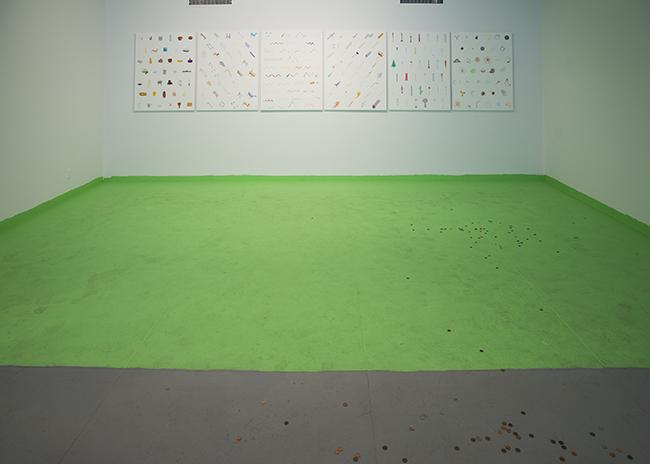 Federico Herrero  Landscape , 2015 Site-specific intervention Dimensions variable
